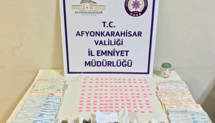 Uyuşturucu satıcılarına polis baskını
