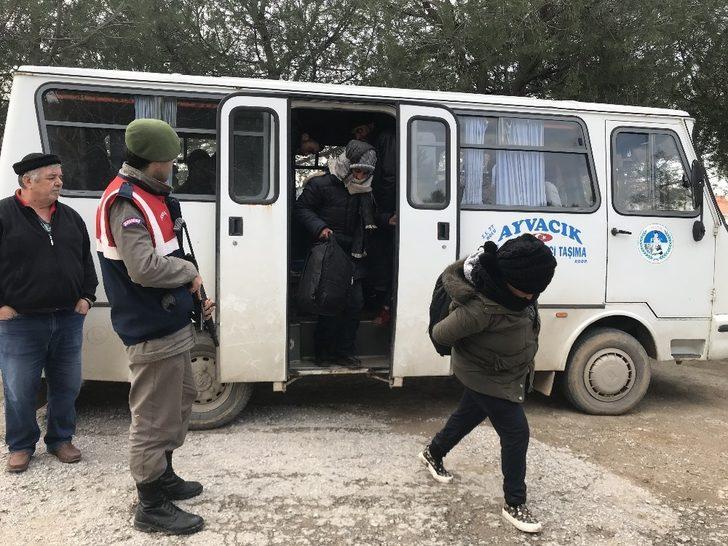 Çanakkale'de 44 kaçak yakalandı
