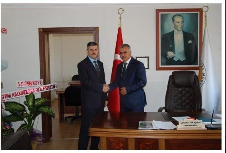 Cide Orman İşletme Müdürü Serhat Akgün, görevine başladı