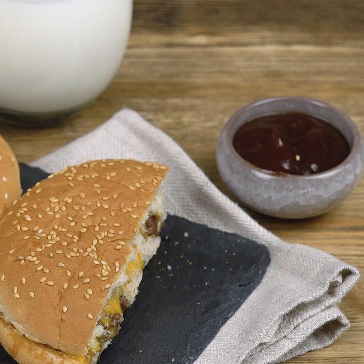 Böylesini görmediniz: Fırında Çıtır Hamburger