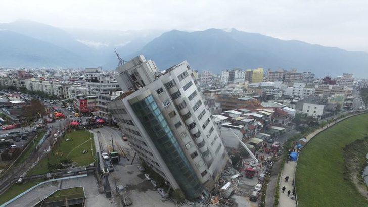 Tayvan'da Bir Yıl Arayla Aynı Günde Aynı Büyüklükte Deprem