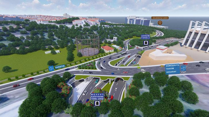 Maçka Parkı'ndaki çalışmayla ilgili belediyeden animasyonlu açıklama