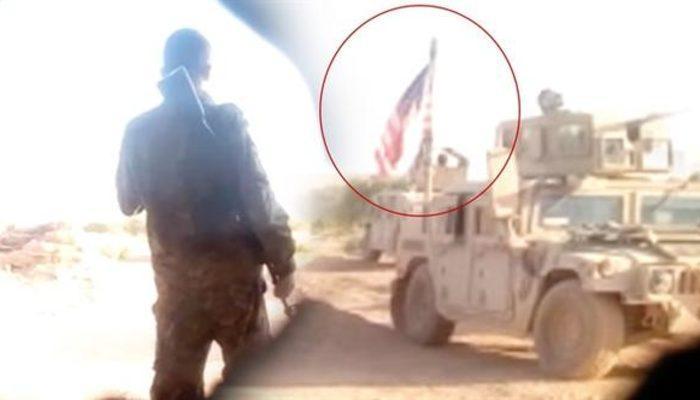 Skandal fotoğraf: Suriye'de çekildi! Birlikte nöbet tutuyorlar