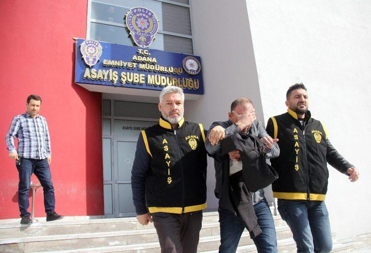 Adana burması çalan hırsızlar yakalandı