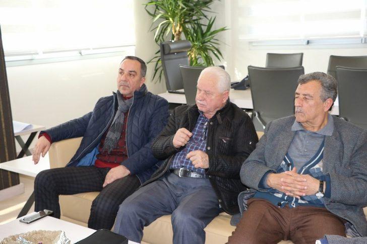 Kısık Camisinin cemaati sıkıntılarını Yalçınkaya'ya anlattı