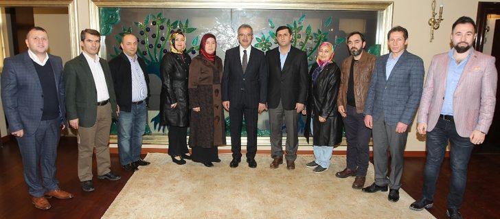 Başkan Köşker, AK Parti Beylikbağı Mahalle teşkilatını ağırladı