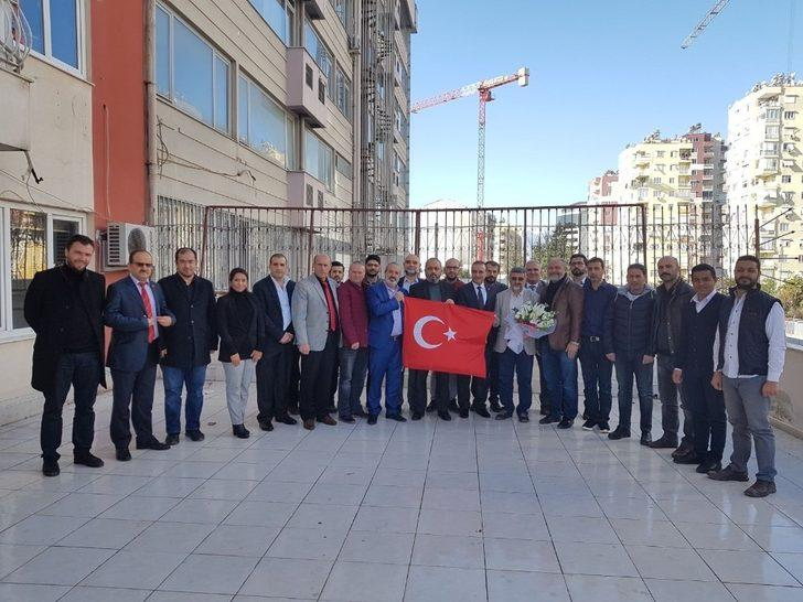 TÜMSİAD Antalya Şube Başkanlığına Mesut Menzilcioğlu seçildi