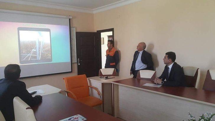Kaman İlçe Kaymakamı Murat Girgin KOP projesi alanlarında incelemelerde bulundu