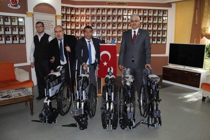 Sivas'tan Zeytin Dalı Harekatı gazilerine anlamlı yardım