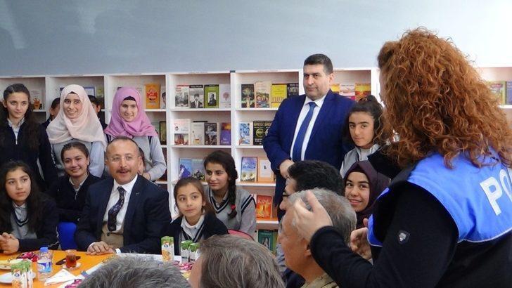 Siirt'te şehit emniyet müdürü adına kütüphane açıldı