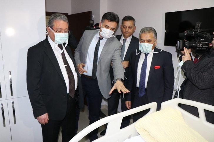 ERÜ Çocuk Hastanesi Hematoloji-Onkoloji Kliniği ve Kemik İliği Transplantasyon Ünitesi yenilendi
