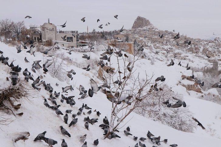Kapadokya'yı Ocak ayında 102 bin 540 turist ziyaret etti