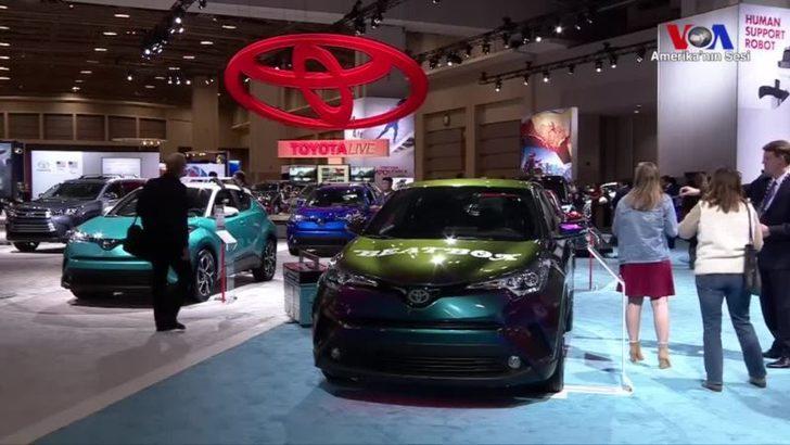 Washington'daki Otomobil Fuarı'nda Yakıt Tasarruflu Araçlar Dikkat Çekti