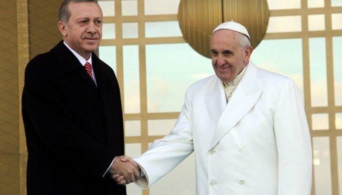 Erdoğan, Papa ile görüşmek için bağış mı yaptı?