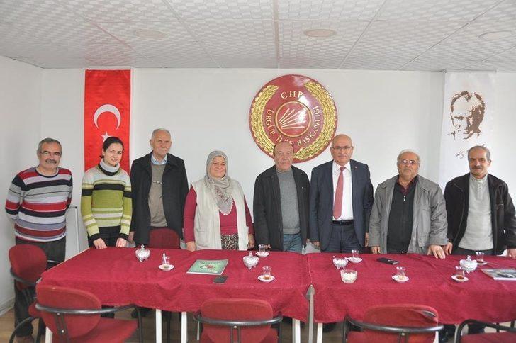 Ürgüp Belediye Başkanı Yıldız, CHP İlçe teşkilatını ziyaret etti