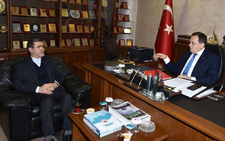 """Başkan Hacısalihoğlu: """"Direkt uçak seferleri İran'la ilişkileri geliştirir"""""""