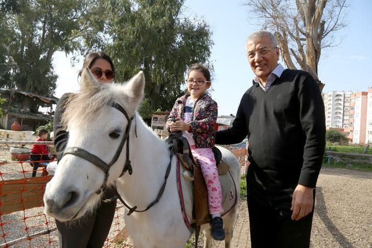 Miniklerin at sevgisi