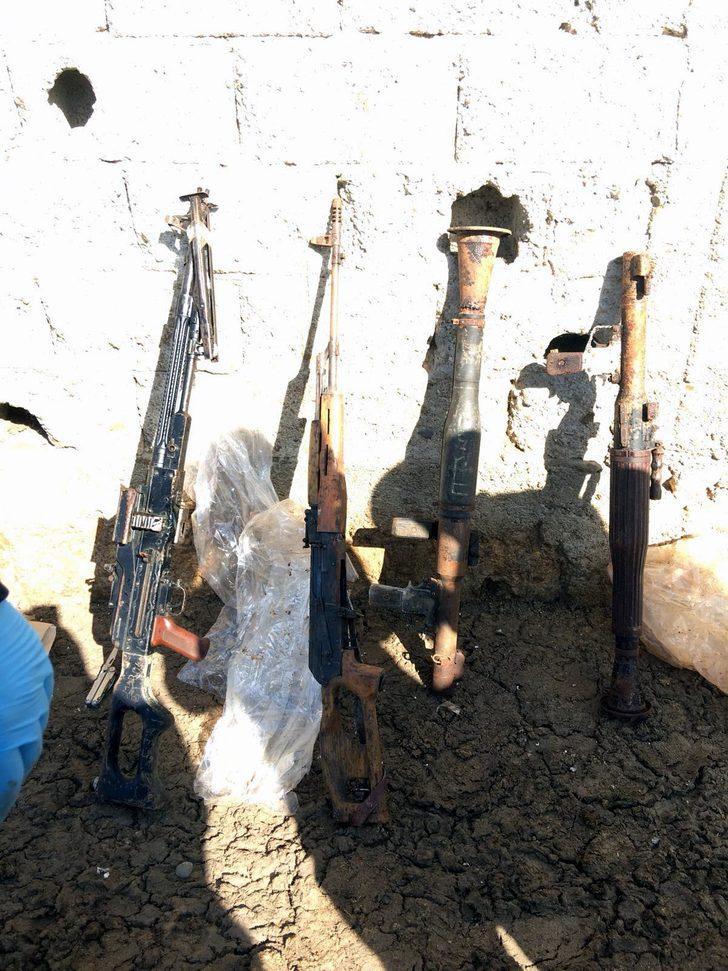 Siirt'teki ahırda PKK'nın suikast silahı ele geçirildi