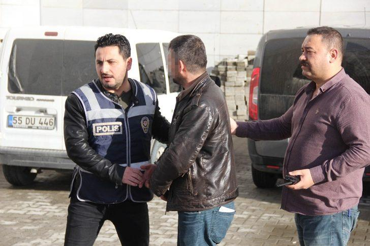 Samsun'da zorla fuhuş iddiasına gözaltı