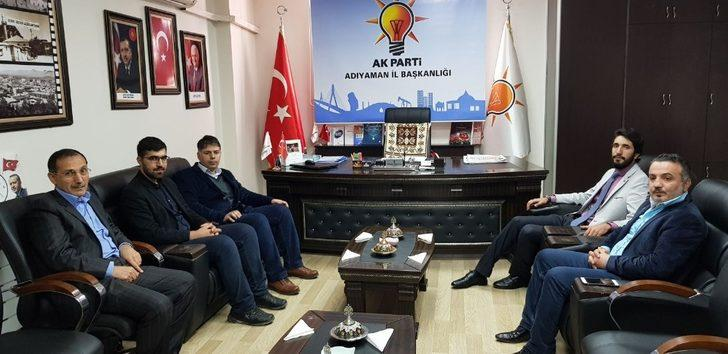 Saadet Partisi'nden AK Parti'ye ziyaret