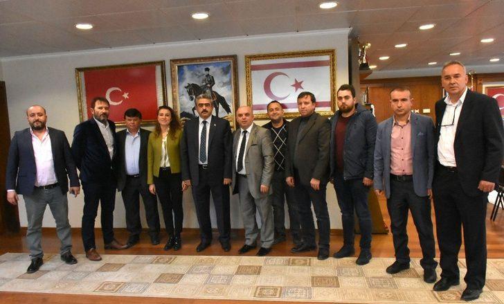 Nazilli Belediyespor'dan Başkan Alıcık'a teşekkür ziyareti
