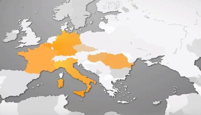 Almanya'da skandal Türkiye hatası! Haritadan sildiler