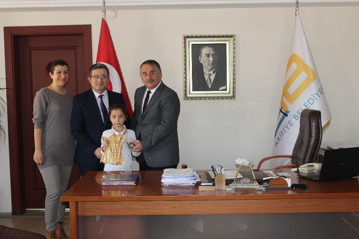 Arifiyeli Deniz Wushu'da Türkiye Şampiyonu oldu