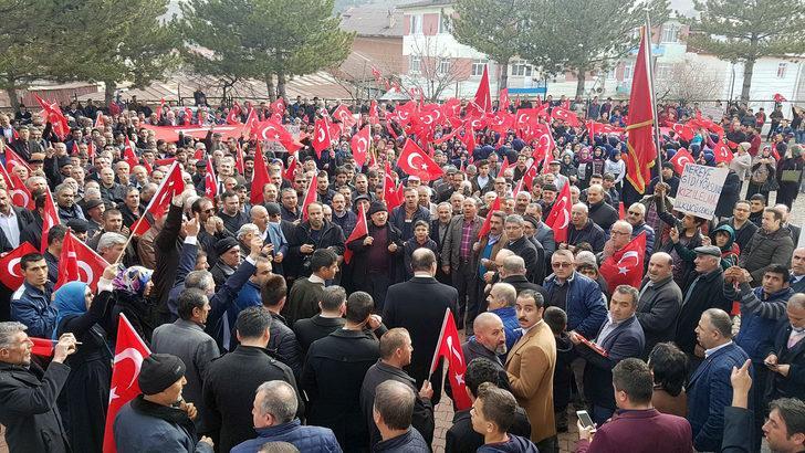 Sivas'ta 'Zeytin Dalı Harekatı'na destek yürüyüşü