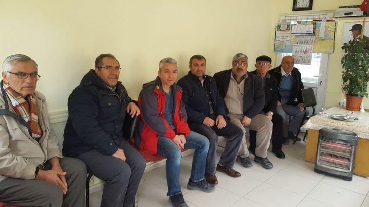 İlçe Emniyet Müdürü Adnan Erişek,  taksicilerle bir araya geldi