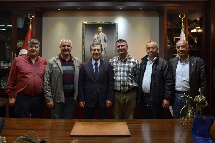 CHP Alpu İlçe Teşkilatından Başkan Ataç'a ziyaret