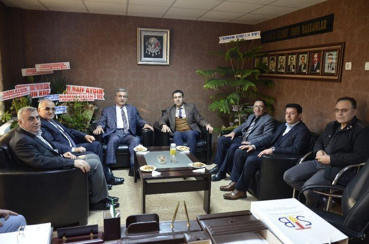 STB Başkanı Hastaoğlu'ndan esnaf odalarına ziyaret