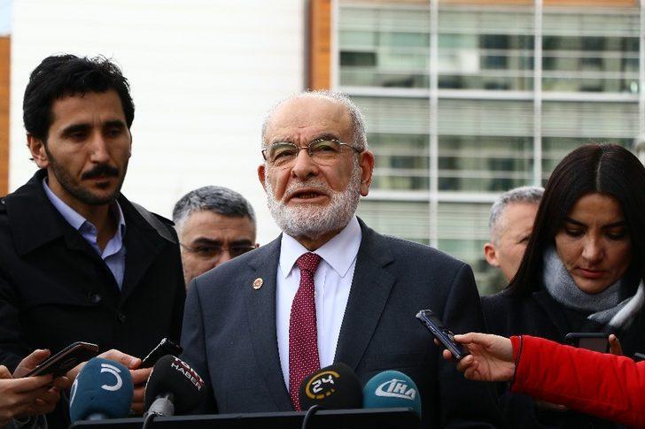 """Karamollaoğlu, """"Son gelişmelerle ilgili bir fikir teatisinde bulunduk"""""""
