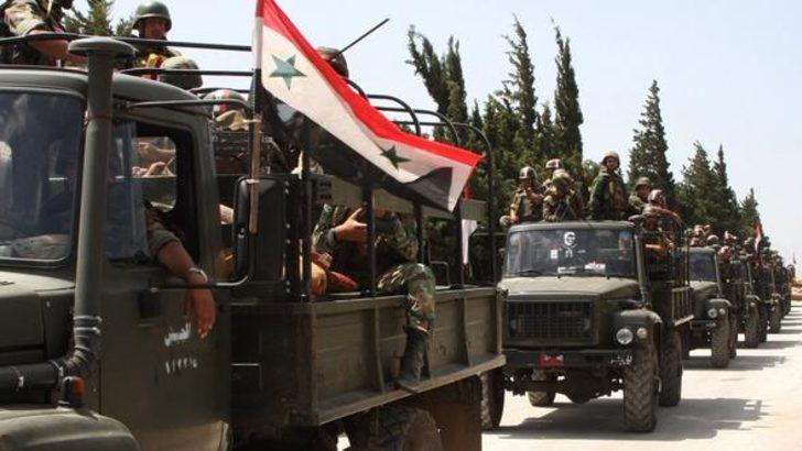 Esad rejimi DEAŞ ile anlaştı! Koridor açtılar...