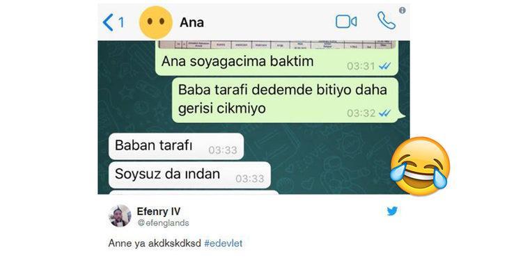 E-Devlet Soy Ağacı Sorgulama'yla köklerinin peşine düşen birbirinden komik Twitter kullanıcıları