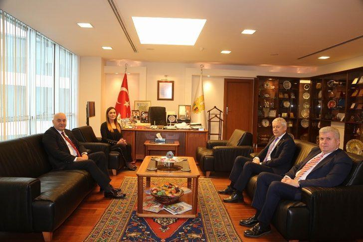 ETSO, Büyükelçi Volkan Türk Vural'ı ağırladı