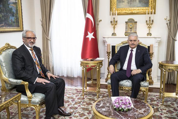 Başbakan Yıldırım, Kuveyt'in Ankara Büyükelçisi'ni kabul etti