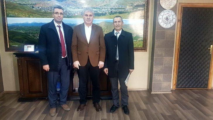 İhlas grubu'ndan Bayburt Belediye Başkanı Mete Memiş'e ziyaret