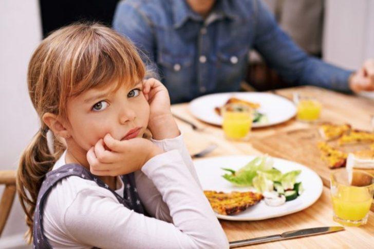 Çocuklarınızın iştahsızlığının nedeni siz olabilirsiniz!