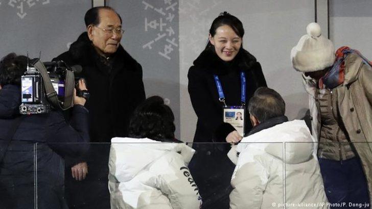 Kış Olimpiyatları'nda tarihi tokalaşma