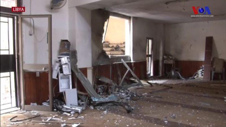 Libya'da Camiye Bombalı Saldırı