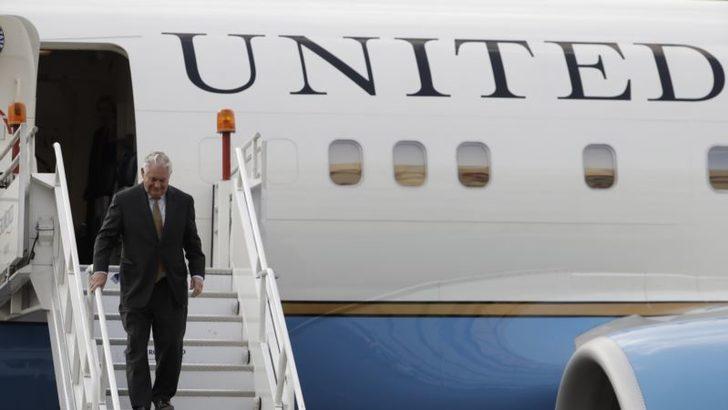 'Tillerson Ankara'da Zor Konuları Görüşecek'