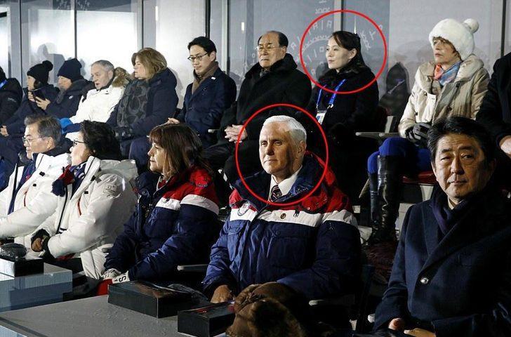 Kış Olimpiyatları'na bu fotoğraf damga vurdu! İki düşman aynı karede