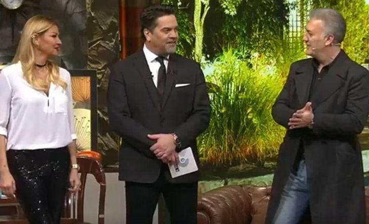 Beyaz Show'da Tamer Karadağlı'dan ilginç itiraf 'Pınar gerçek karım gibi davranıyor'