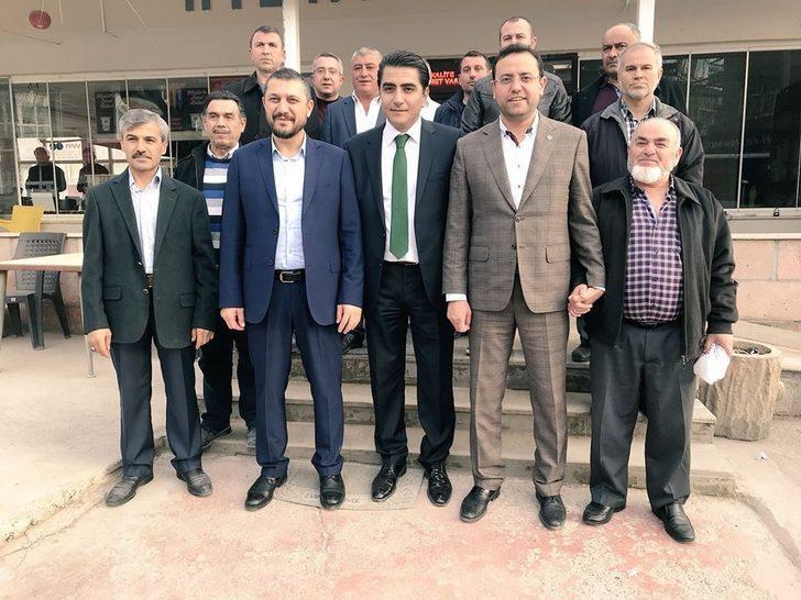 Milletvekilleri Açıkgöz ve Gizligider Gülşehir esnaflarını ziyaret etti