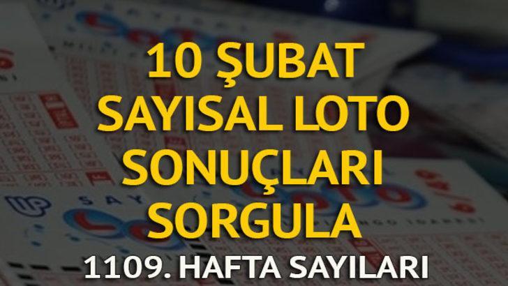 Sayısal Loto sonuçları 10 Şubat: Sayısal Loto 1109. hafta sonucu ve sayıları (MPİ canlı çekiliş)