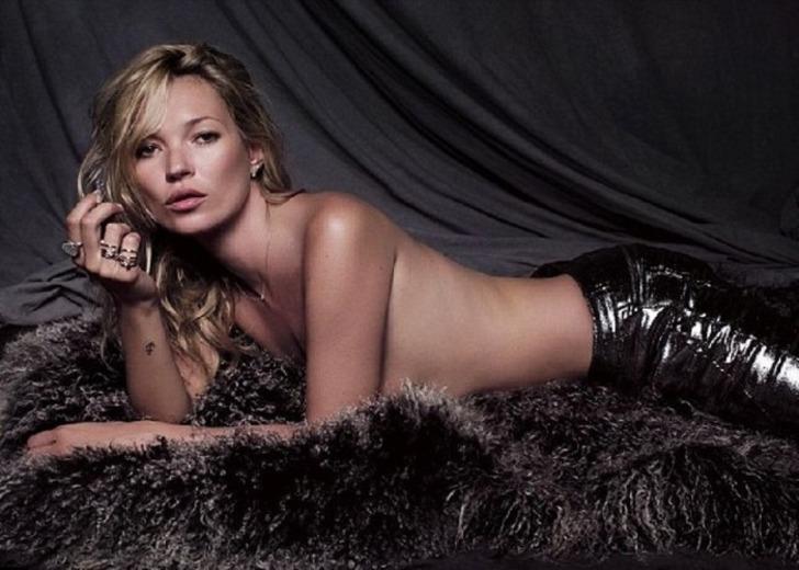 Kate Moss'tan ilk cinsel deneyim itirafı