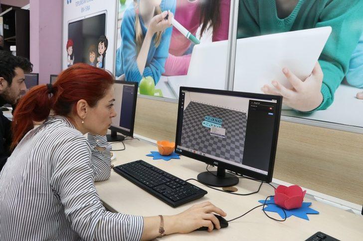 Büyükşehir Bilgievlerine 3D teknoloji atağı