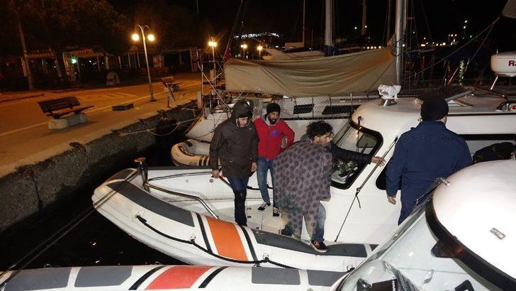 Çanakkale'de 10 kaçak yakalandı