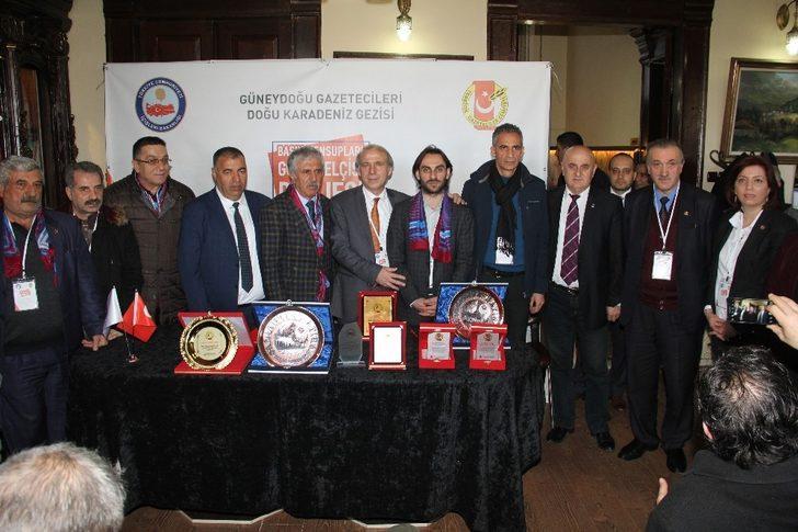 Trabzon'da Karadeniz ile Güneydoğu kardeşliği pekiştirildi