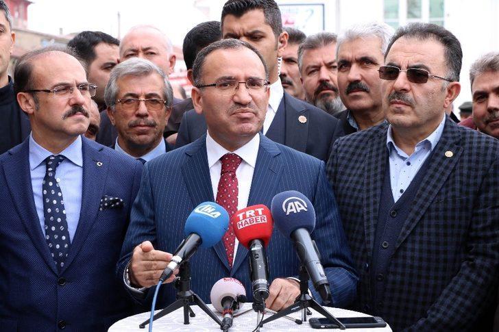 """Bozdağ: """"Türk ismini taşımaya layık olmayanlara karşı sessiz kalamayız"""""""